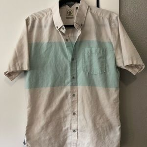 Volcom Casual Button Up - Size M